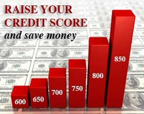 How long to raise credit score 10 points
